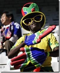 South African fan